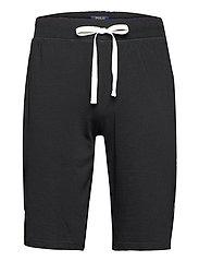Slim Jersey Sleep Short - POLO BLACK