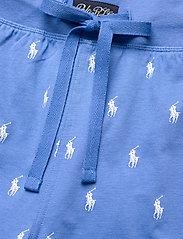 Polo Ralph Lauren Underwear - Signature Pony Sleep Short - bottoms - bermuda blue aopp - 3
