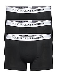Classic Stretch-Cotton Trunk 3-Pack - 3PK BLK WHT/BLK W