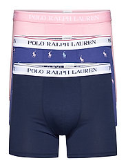 Stretch Cotton Boxer Brief 3-Pack - 3PK NVY AOPP/CRS