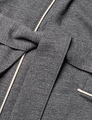 Polo Ralph Lauren Underwear - Cotton-Blend Jersey Robe - peignoirs - charcoal heather - 3