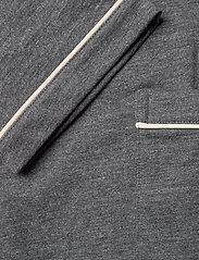 Polo Ralph Lauren Underwear - Cotton-Blend Jersey Robe - peignoirs - charcoal heather - 4
