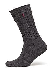 ACTIVE SLACK-SOCKS-SINGLE - CHARCOAL HTHR