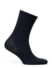 Rib-Knit Trouser Socks
