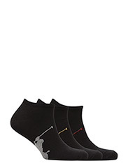 Polo Ralph Lauren Underwear - Big Pony Sock 3-Pack - ankle socks - black - 1