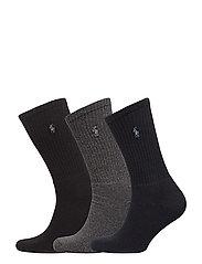 Crew Sock 3-Pack - ASST[NAVY,CHARC