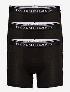 Stretch-Cotton-Trunk 3-Pack - boxershorts - 3pk polo blk