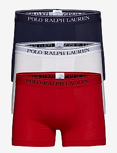 3 PACKS POUCH TRUNKS - RL2000RED/WHITE/C