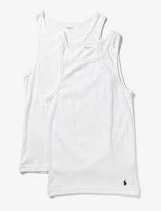 2 PACKS CLASSIC TANKS - WHITE