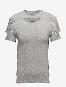 Crewneck T-Shirt 2-Pack - multipack - 2pk andover htr
