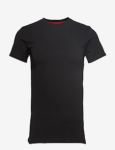 Cotton Crewneck T-Shirt - POLO BLACK