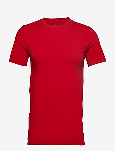 Cotton Crewneck T-Shirt - RL2000 RED