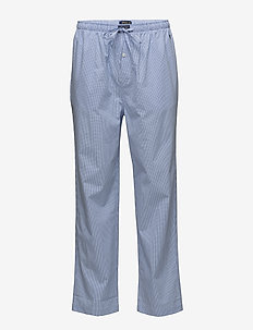 PYJAMA LONG PANT - nederdelar - lt blue mini gi