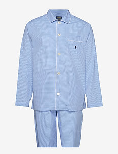 PYJAMA SET LONG - doły - lt blue mini gi