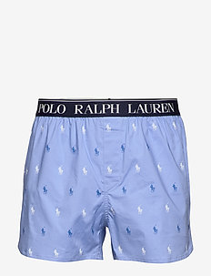 Slim Fit Stretch Cotton Boxer - CABANA BLUE AOPP