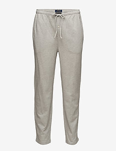 Knit Cotton Oxford Sleep Pant - ANDOVER HEATHER H