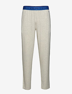 Slim-Fit Cotton Sleep Pant - NEW SAND HEATHER