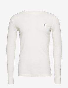 WAFFLE-CRW-STP - langermede t-skjorter - nevis i
