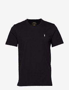 LIQUID COTTON-CRW-STP - POLO BLACK