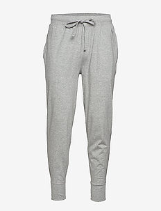 Cotton Jersey Jogger Pant - bottoms - andover heather