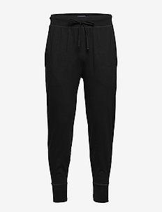 Cotton Jersey Jogger Pant - polo black