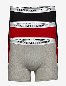 Cotton Boxer Brief 3-Pack - 3PK AND HR/RL RED