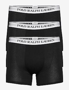 Cotton Boxer Brief 3-Pack - boxershorts - 3pk black/black/b