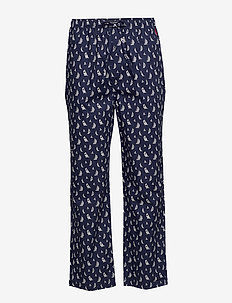 Cotton Jersey Sleep Pant - bottoms - cruise navy boat