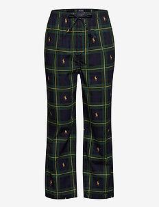 Cotton Jersey Sleep Pant - nederdelar - gordon plaid aopp