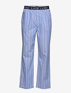 Cotton Jersey Sleep Pant - PAUL STRIPE