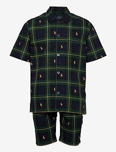 COTTON-SST - pyjamas - gordon plaid aopp