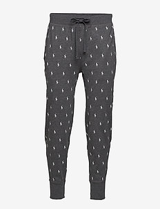 Allover Pony Cotton Jogger - joggebukser - charcoal heather