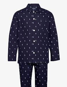 Cotton Sleep Set - pyjamas - cruise navy / blu