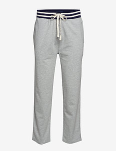 JOGGER-PANT-SLEEP BOTTOM - ANDOVER HEATHER/C