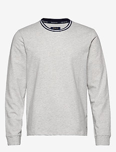 L/S CREW-CREW-SLEEP TOP - ENGLISH HEATHER