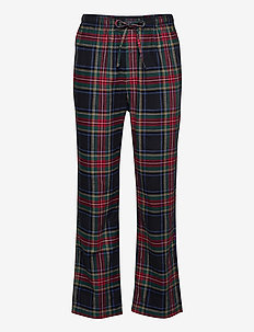 PJ PANT-PANT-SLEEP BOTTOM - broeken - cooper plaid gold