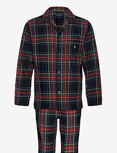L/S PJ SET-SLEEP SET - pyjama's - cooper plaid gold