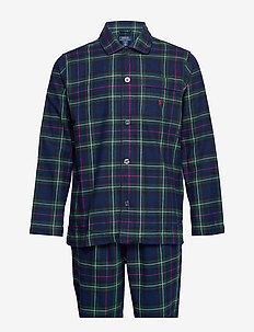 L/S PJ SET-SLEEP SET - KESINGTON PLAID