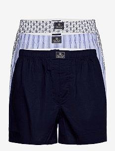 Cotton Boxer 3-Pack - boxershorts - 3pk cr nvy/scott