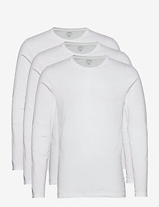 COTTON-3PK-UCR - basic t-shirts - 3pk white/white/w