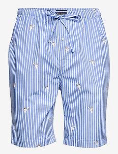 COTTON-SSH-SLB - pyjama's - tennis bear strip