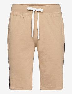 Slim Jersey Sleep Short - bottoms - vintage khaki