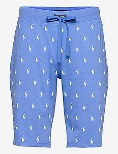 Signature Pony Sleep Short - bottoms - bermuda blue aopp