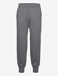 Logo Cotton-Blend Jogger - joggingbyxor - charcoal heather