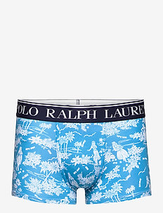 Polo Bear Tropical Stretch Cotton Trunk - boxershorts - caribbean blue lu
