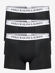 Classic Stretch-Cotton Trunk 3-Pack - boxers - 3pk blk wht/blk w
