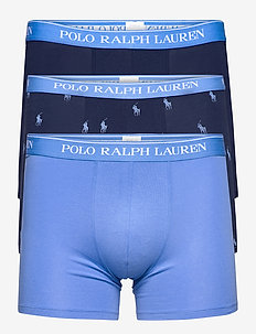 Stretch Cotton Boxer Brief 3-Pack - boxers - 3pk nvy/bermuda b