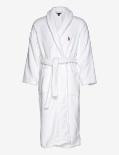 Cotton Terry Robe - morgenkåber - white