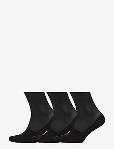 Big Pony No-Show-Liner 3-Pack - socks - black