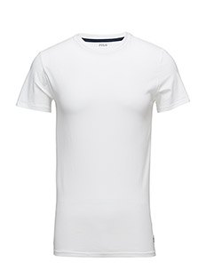 Cotton Crewneck T-Shirt - WHITE